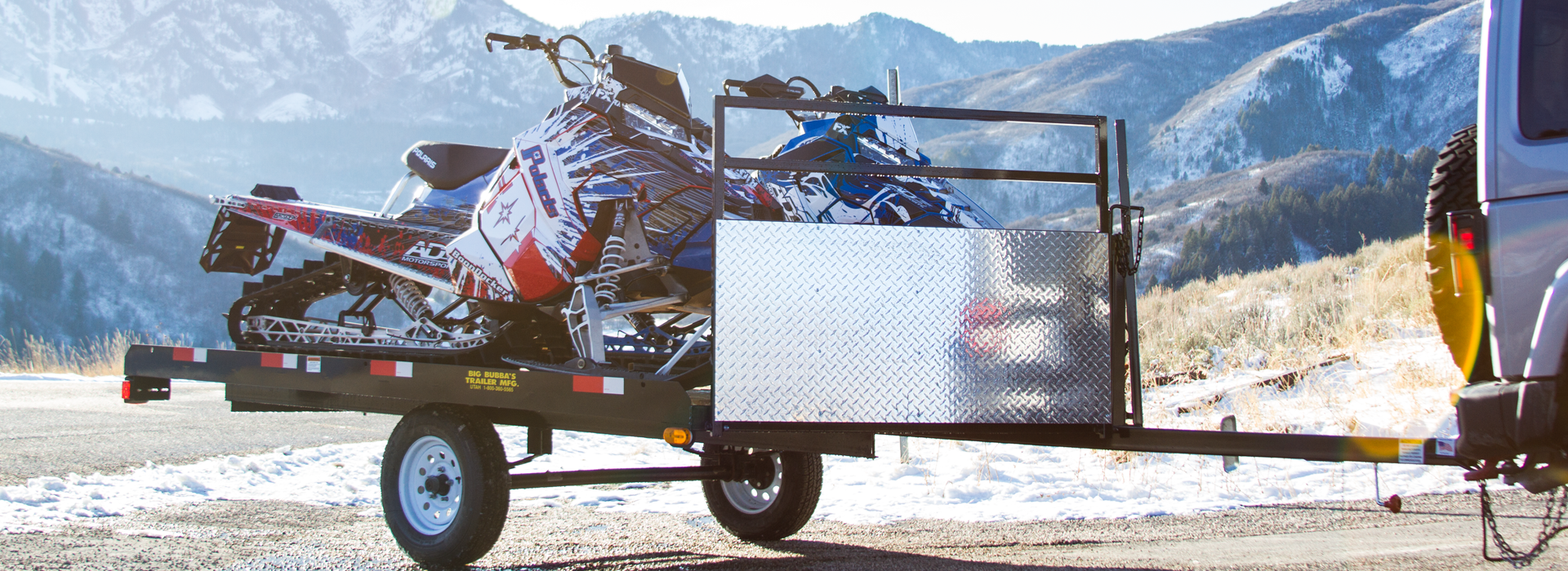 Big Bubba's Snowmobile Trailer